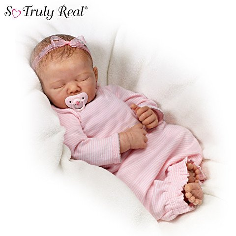 Rock-A-Bye Baby Doll with Musical Pillow
