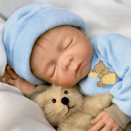 Sweet Dreams, Baby Jacob: So Truly 18-Inch Baby Boy Doll - detail