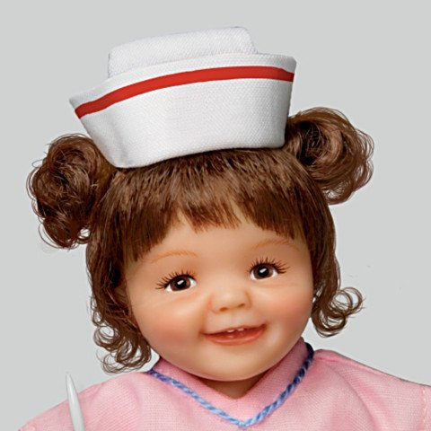 The Nurse's RX: Love & Laughter Child Doll Collection - detail