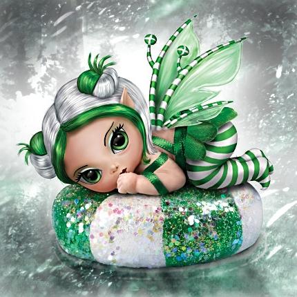 Green Fairy Baby Doll