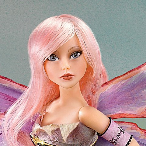 16-Inch Ball-Jointed Fairy Doll - Detail