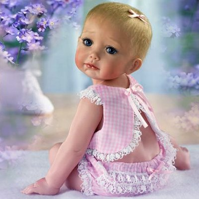 Hailey needs a hug - lifelike baby doll