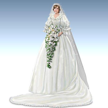 Princess Diana - bride figurine