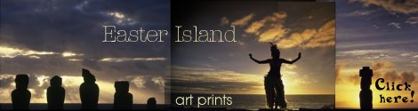 Easter Island art prints