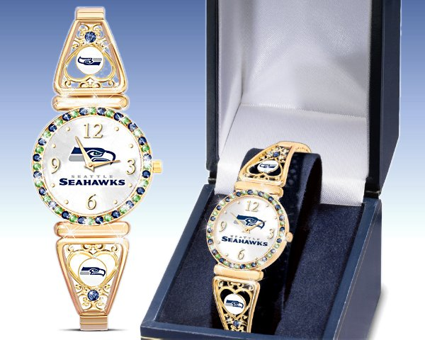 Seattle Seahawks Women's Bracelet Watch: My Seahawks