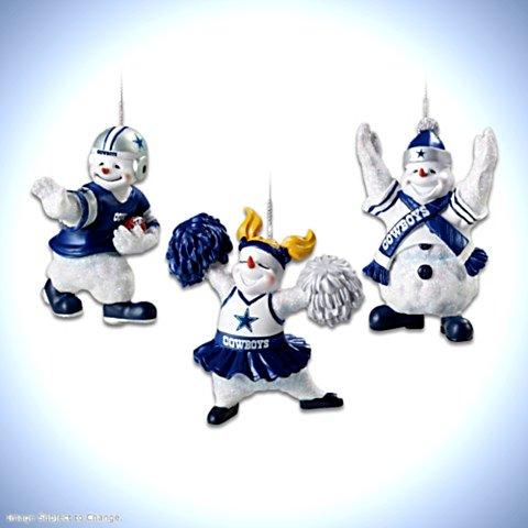 The Dallas Cowboys Coolest Fans Ornament Collection
