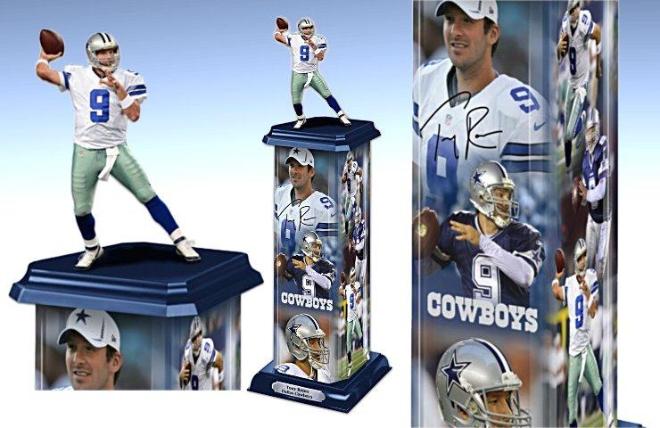 Tony Romo: Legend In Action Sculpture