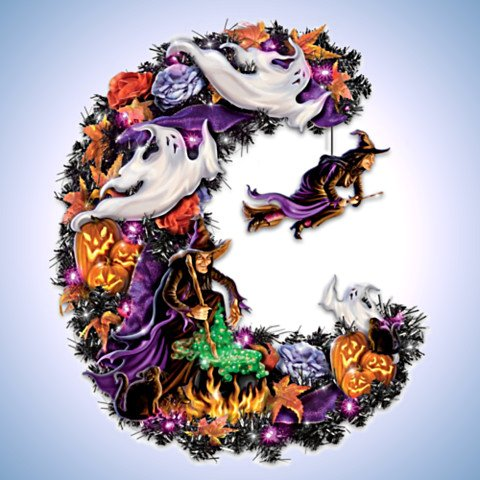 Best Witches Halloween Wreath