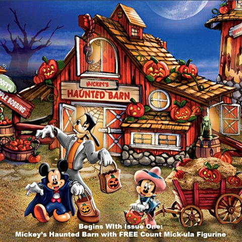 Disney Halloween Harvest Village Collection - Issue 1