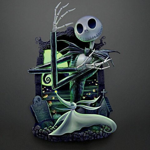 Disney The Nightmare Before Christmas Wall Decor Collection - dark