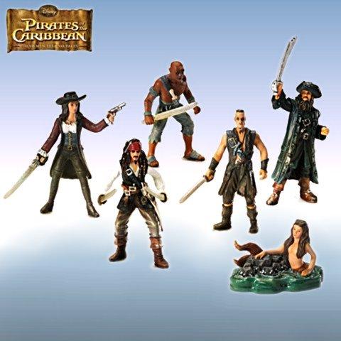 Figurine Set: Pirates Of The Caribbean Revenge