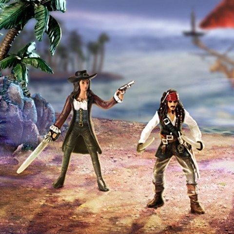 Figurine Set: Pirates Of The Caribbean Revenge - Detail