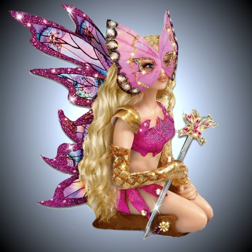 Mystical Warriors Wear Pink - Fantasy Doll Collection