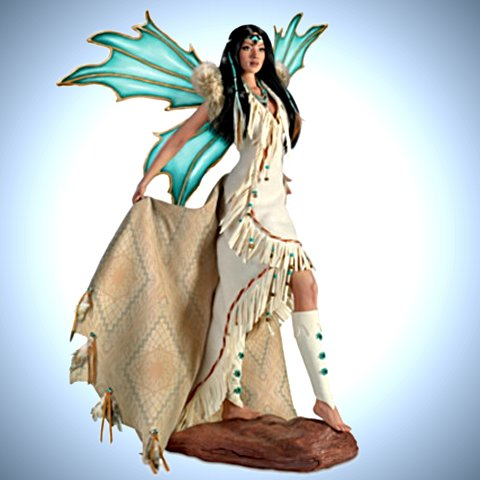 Mystical Maidens Of The Desert Sky - Fantasy Doll Collection