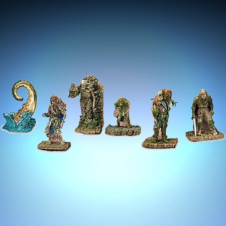 Pirates Of The Caribbean Collectible Figurine Set