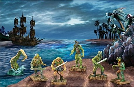 Pirates Of The Caribbean Collectible Figurine Set 2