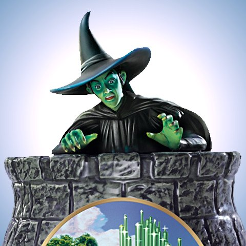 THE WIZARD OF OZ Collectible Cookie Jar With The Wicked Witch - Detail 1