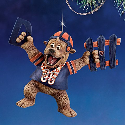 The Chicago Bears Grreatest Fans Ornament Collection issue 1