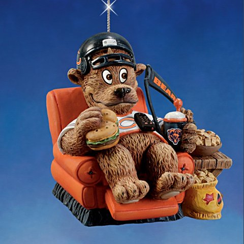 The Chicago Bears Grreatest Fans Ornament Collection issue 2
