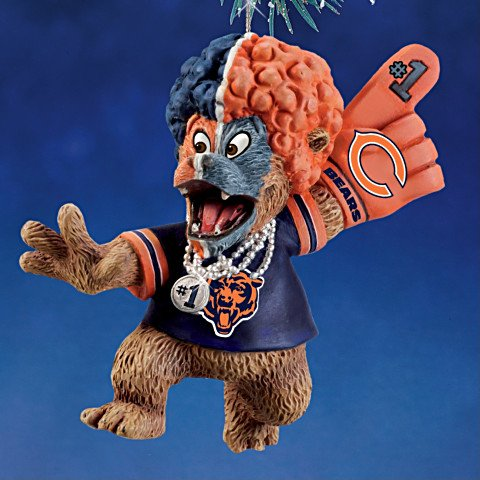 The Chicago Bears Grreatest Fans Ornament Collection issue 3