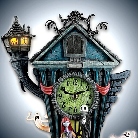 The Nightmare Before Christmas Cuckoo Clock - detail 1