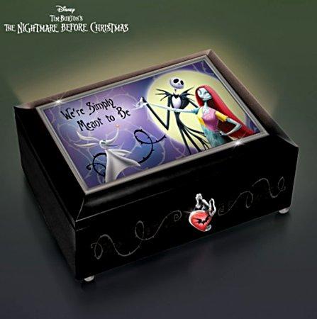 The Nightmare Before Christmas Illuminated Music Box