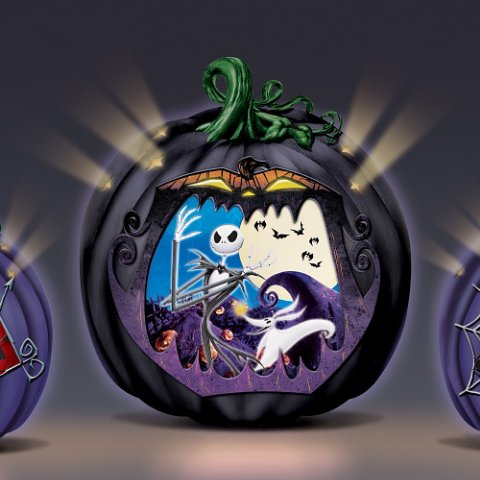 The Nightmare Before Christmas Sculpture Collection - detail