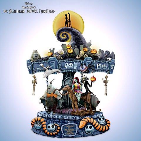 Tim Burton's The Nightmare Before Christmas Carousel