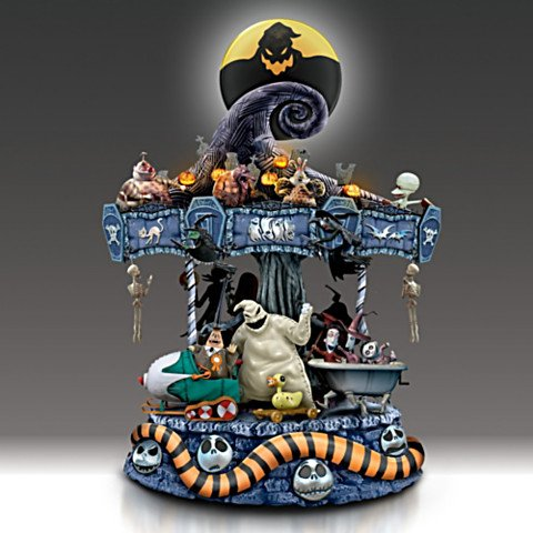 tim burtons the nightmare before christmas carousel dark