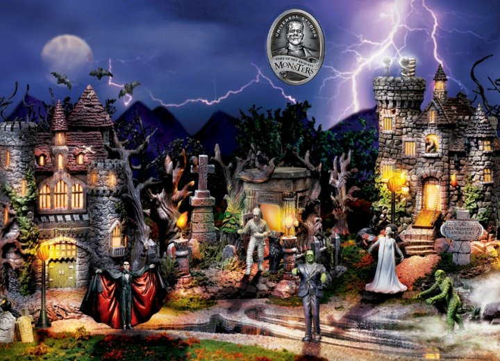 The Monsters Collectible Village