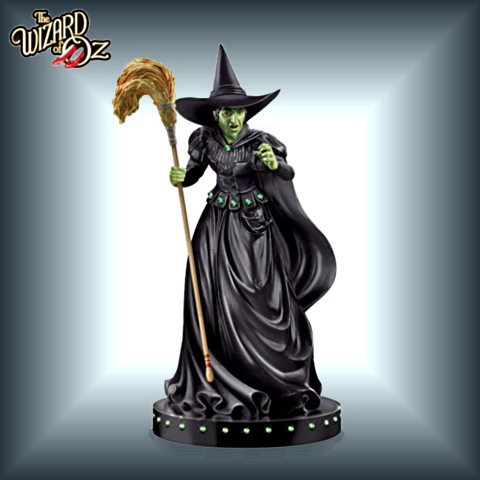 The Wizard Of Oz - Wicked Witch Of The West - Glow-In-The-Dark Sculpture