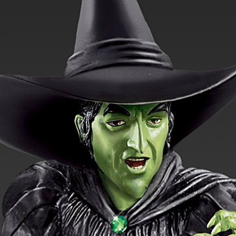 The Wizard Of Oz - Wicked Witch Of The West - Glow-In-The-Dark Sculpture - Detail