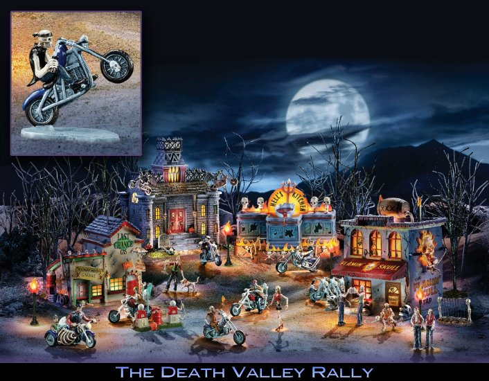 The Death Valley Rally - Illuminated Village Collection