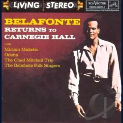 Belafonte Returns to Carnegie Hall - Harry Belafonte CD 1960