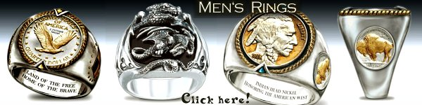 Very special Mens Rings