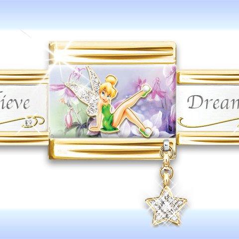 Disney Tinker Bell's Enchanted Gardens Bracelet - detail