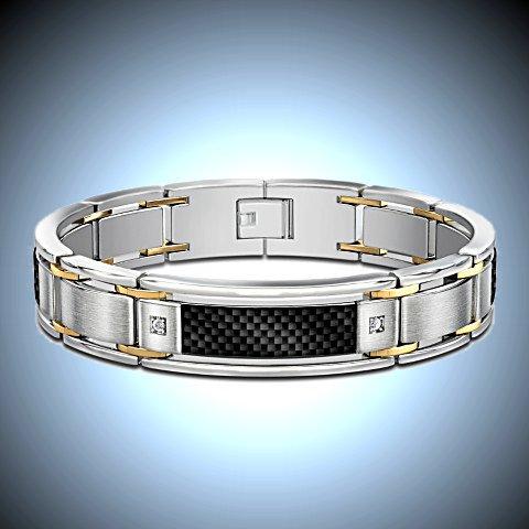 Dressed To Thrill Diamond Men's Bracelet