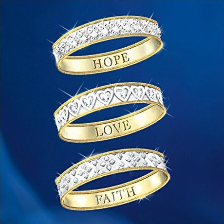 Eternity Diamond Ring: Faith, Hope And Love