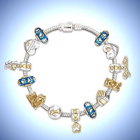 I Love My Dog Bracelet - Yorkie