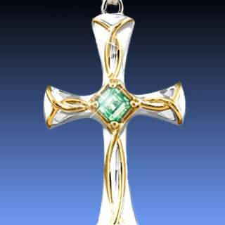 Celtic and irish jewelry celtic blessings irish cross pendant necklace aloadofball Gallery