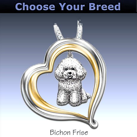 Loyal Companion Dog Lover Necklace Gift Idea - Bichon-Frise