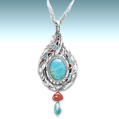 Sedona Sky Pendant Necklace