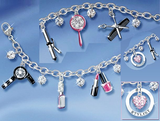 Show Your Style Fashion Charm Bracelet: Unique Gift For Her