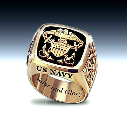 U.S. Navy Men's Ring