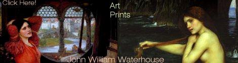John William Waterhouse art prints