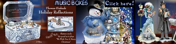 Kinkade Music Boxes