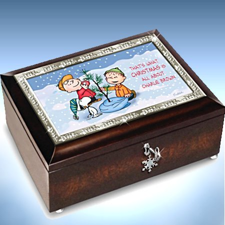 A Charlie Brown Christmas 50th Anniversary PEANUTS Music Box