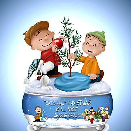 A Charlie Brown Christmas Sculptural Music Box