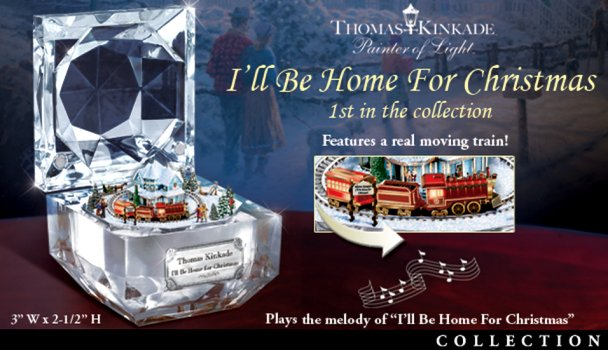 Thomas Kinkade Best Loved Christmas Carols Music Box Collection
