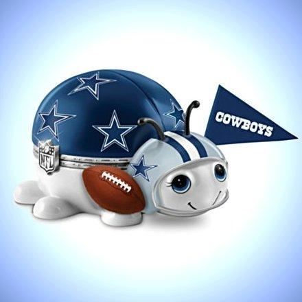 NFL Dallas Cowboys Bug Music Box: #1 Fan